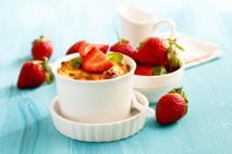 Zapiekane truskawki: szybki deser truskawkowy