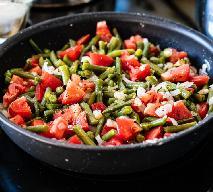 Fasolka szparagowa duszona z pomidorami - szybki i zdrowy pomysł na fasolkę
