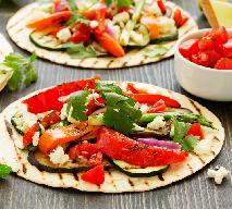 Grillowana tortilla z warzywami - jak urozmaicić potrawy z grilla