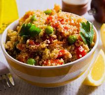 Przepis na sałatkę kuskus z warzywami