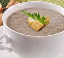 Świąteczna zupa krem z borowików [przepis]