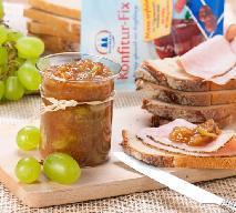 Winogrona: konfitura winogronowa z figą