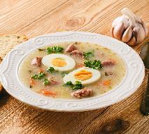 Żurek: przepis na idealną zupę na kaca