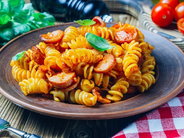 Fusilli Alla Rusticana Przepis Na Danie Kuchni Włoskiej