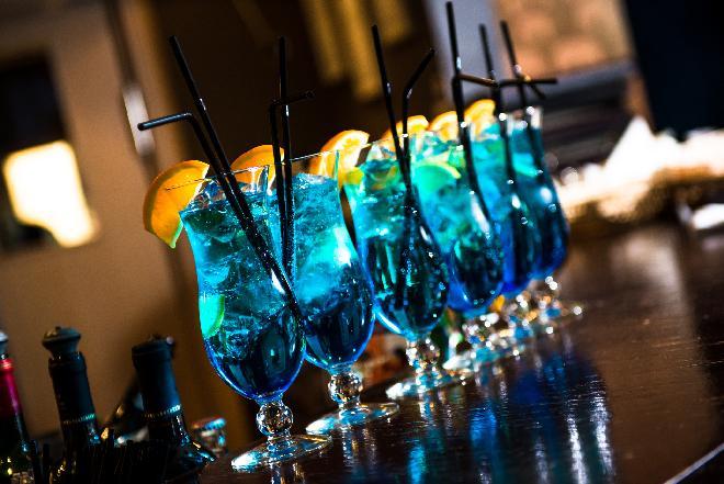 Błękitna Laguna: drink na sylwestrowe przyjęcie