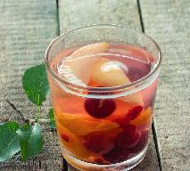 Kompot z gruszek i mirabelek (ałyczy) do słoików na zimę