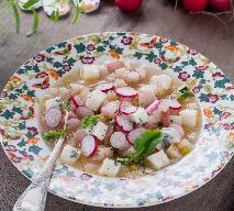 Rzodkiewkowa z gorgonzolą - oryginalna wiosenna zupa