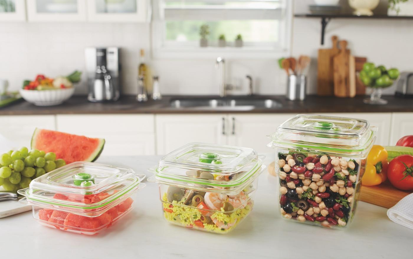 Sałatki, dodatki, owoce są bezpieczne w próżniowym opakowaniu