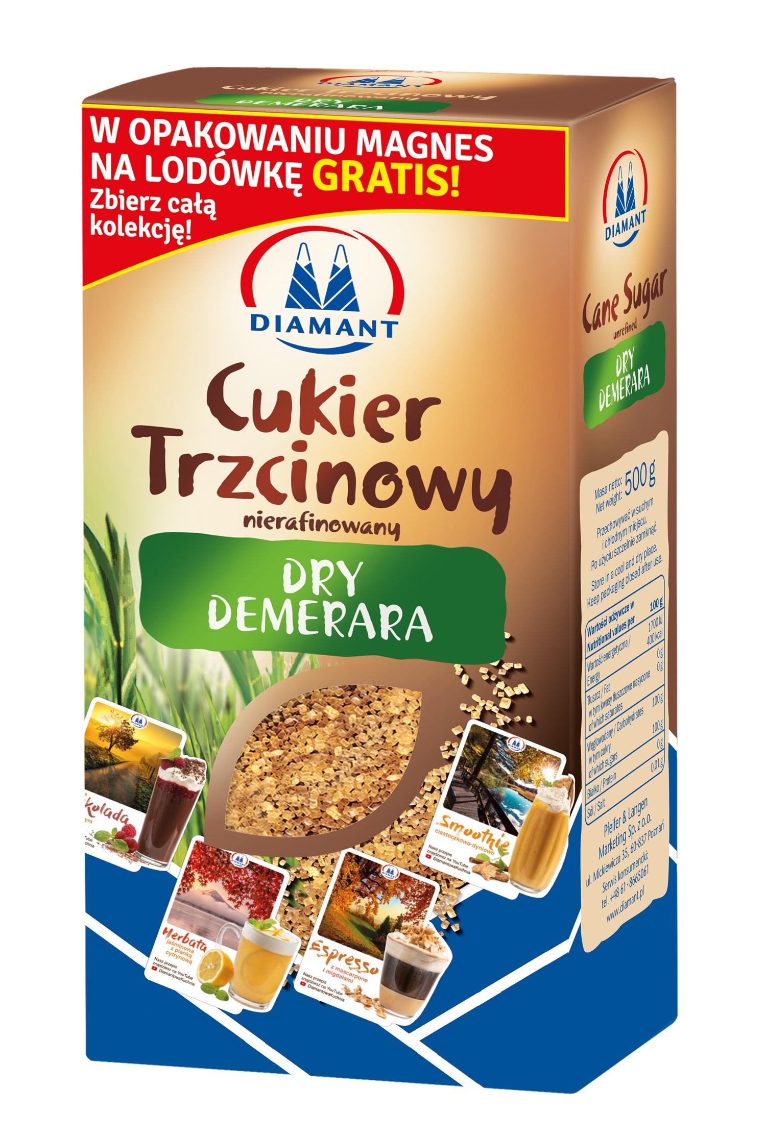 Cukier Dry Demerara marki Diament