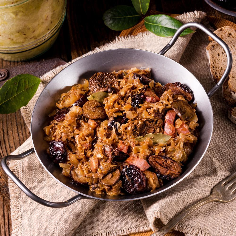 Bigos - bogactwo smaków - jedność płodów pola i lasu